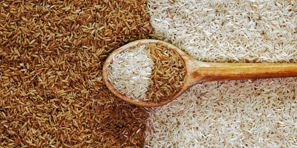 Brown Rice v/s White Rice